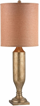 Lazy Susan 112095 Trophy Antique Gold Leaf Table Lamp