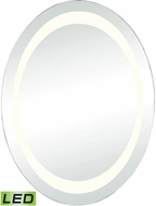 Lazy Susan 1179-009 Skorpios Contemporary Clear LED Wall Mirror