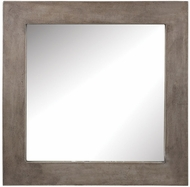 Lazy Susan 157-001 Cubo Concrete Wall Mounted Mirror