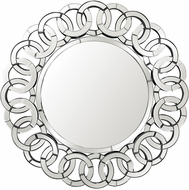 Lazy Susan 173-001 Chain Link Contemporary Clear Mirror