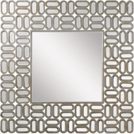 Lazy Susan 173-002 Oblong Silver / Gold Antique Mirror