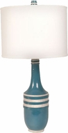 Lazy Susan 223056 Mystic Metro Blue & Cream Table Light