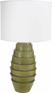 Lazy Susan 223080 Spring Flaked Green Side Table Lamp