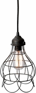 Lazy Susan 225033 Wire Contemporary Brown Mini Hanging Lamp