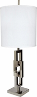 Lazy Susan 225062 Chain Link Contemporary Silver Lighting Table Lamp