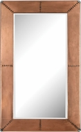 Lazy Susan 3100-011 Modern Copper Copper Frame Mirror With Nail Head