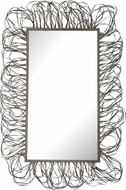 Lazy Susan 3200-021 Contemporary Pewter Scribble Frame Mirror