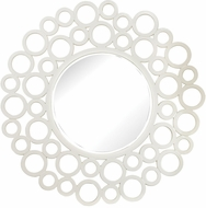 Lazy Susan 6100-003 Contemporary Gloss White Wall Mounted Mirror