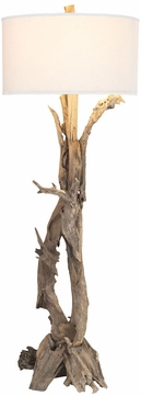 ELK Home 7011-291 Hounslow Heath Rustic Natural Floor Lamp