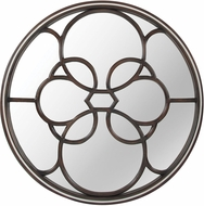 Lazy Susan 7011-453 Budapest Heritage Dark Grey Stain / Cappuccino Foam Wall Mounted Mirror
