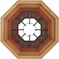 Lazy Susan 7011-455 Bombardier Ombre Stain Combination Wall Mirror