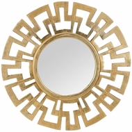 ELK Home 8990-016 Meandros Wall Mirror Modern Antique Gold Mirror
