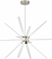 LBL CH996SCLED930 Photon Modern Satin Nickel LED Lighting Chandelier