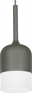 LBL LP772OPGY Mezzo Modern Gray Line Voltage Mini Pendant Hanging Light