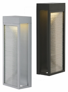 LBL Moi 18 Contemporary LED Outdoor Lighting Sconce With Finish Options