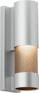 LBL OD789SMSI Moon Dance Contemporary Silver Exterior Lighting Wall Sconce