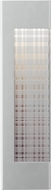 LBL OD821SILEDW Henry Contemporary Silver LED Exterior Wall Lighting