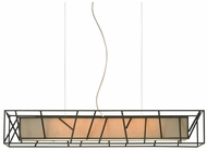 LBL PF6654TNNRCF Derby Rectangular Pendant Island Lighting