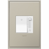 Legrand Adorne AAFN4S16AW4 Modern White Paddle Fan Speed Control