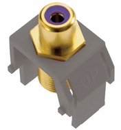 Legrand Adorne ACPRCAFM1 Modern Magnesium Subwoofer RCA to F-Connector