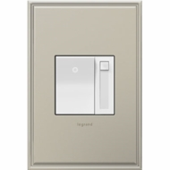 Legrand Adorne ADPD453LW2 Contemporary White Paddle Dimmer 450W (CFL LED Incandescent/Halogen)
