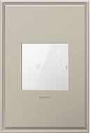 Legrand Adorne ADTH4FBL3PW4 Touch Contemporary White 0-10V Touch Dimmer