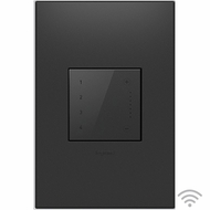 Legrand Adorne ADTHRIWHCG1 Modern Graphite Wi-Fi Ready In Wall Touch Scene Controller