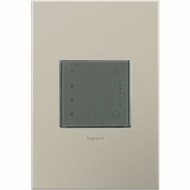 Legrand Adorne ADTHRIWHCM1 Modern Magnesium Touch - Wi-Fi Ready In Wall Scene Controller