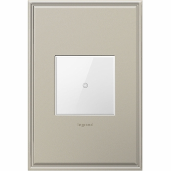Legrand Adorne ADTHRRW1 Contemporary White Touch Dimmer Wi-Fi Ready Remote