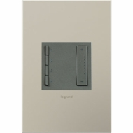 Legrand Adorne ADTPRIWHCM1 Modern Magnesium Soft Tap - Wi-Fi Ready In Wall Scene Controller