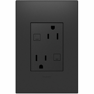 Legrand Adorne AGFTR2153G4 Contemporary Graphite 15A Tamper-Resistant Plus Size GFCI Outlet