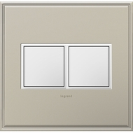 Legrand Adorne ARPTR152GW2 Modern White Pop-Out Outlet 2-Gang