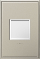 Legrand Adorne ARPTR201GW2 Outlets Modern White 20 Amp 1-Gang Pop-Out
