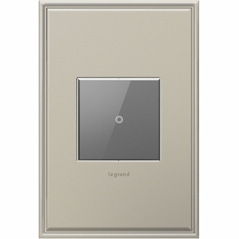 Legrand Adorne ASTH155RMM1 Contemporary Magnesium Touch Switch Wi-Fi Ready Master