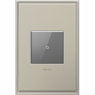 Legrand Adorne ASTHRRM1 Contemporary Magnesium Touch Switch Wi-Fi Ready Remote