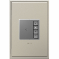 Legrand Adorne ASTM2M2 Contemporary Magnesium Manual-ON/Timed-OFF SensaSwitch