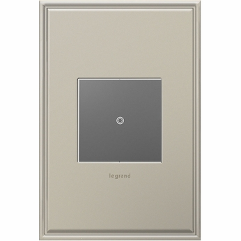 Legrand Adorne ASTP1532M4 Contemporary Magnesium sofTap Switch 15A
