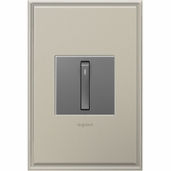 Legrand Adorne ASWR155RMM1 Contemporary Magnesium Whisper Switch Wi-Fi Ready Master