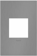 Legrand Adorne AWC1G2BBN4 Cast Metals Contemporary Brushed Black Nickel 1-Gang Wall Plate