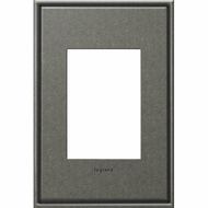 Legrand Adorne AWC1G3BP4 Contemporary Burnished Pewter Brushed Pewter 1-Gang Wall Plate