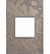 Legrand Adorne AWM1G2HFBS4 Contemporary Burnished Steel Hubbardton Forge Burnished Steel 1-Gang Wall Plate