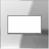 Legrand Adorne AWM2GMR1 Real Materials Contemporary Mirror 2-Gang Wall Plate