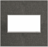 Legrand Adorne AWM2GSP4 Real Materials Contemporary Spiraled Stainless 2-Gang Wall Plate