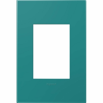 Legrand Adorne AWP1G3TB4 Modern Turquoise Blue Turquoise Blue 1-Gang Wall Plate