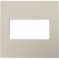 Legrand Adorne AWP2GGG4 Contemporary Greige Greige 2-Gang Wall Plate