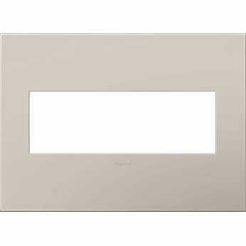 Legrand Adorne AWP3GGG4 Contemporary Greige Greige 3-Gang Wall Plate