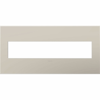 Legrand Adorne AWP5GGG1 Contemporary Greige Greige 5-Gang Wall Plate