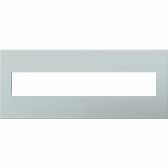 Legrand Adorne AWP6GBL1 Contemporary Pale Blue Pale Blue 6-Gang Wall Plate