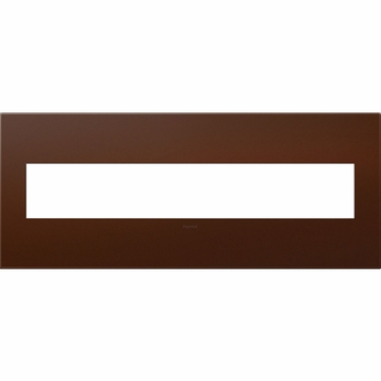 Legrand Adorne AWP6GRS1 Contemporary Russet Soft Touch Russet 6-Gang Wall Plate