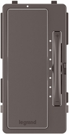 Legrand Radiant HMKIT Modern Brown Multi-Location Interchangeable Dimmer Face Cover